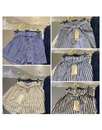 Pantaloni scurți - cod 7171 - multicolor