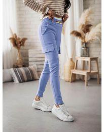 Pantaloni - cod 5130 albastru deschis