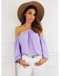 Bluză pentru femei în culoare violet - cod 6561