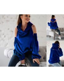Hanorac - cod 3262 - albastru închis