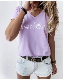 Tricou - cod 822 - 1 - violet deschis
