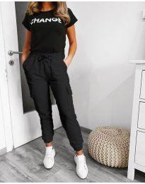 Pantaloni - cod 3089 - 2 - negru