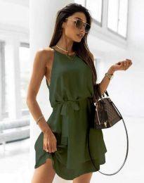Rochie - cod 9968 - verde unt