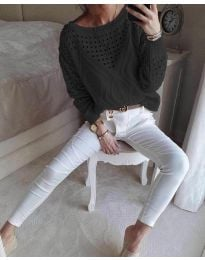 Bluza - cod 6182 - negru