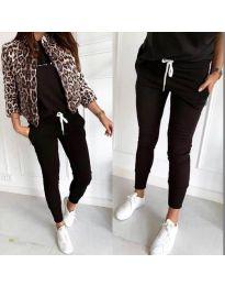 Pantalon Trening - cod 3486 - negru