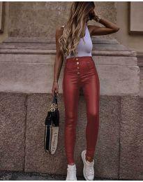 Pantaloni - cod 4181 - bordo