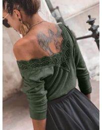 Bluza - cod 188 - verde unt