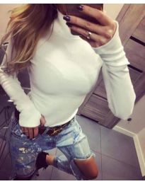 Bluza - cod 5256 - alb