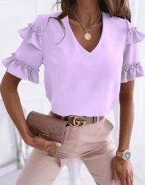Bluza - cod 2670 - violet deschis