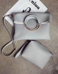 Geantă - cod B292 - gri inchis