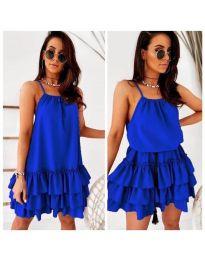 Rochie - cod 451 - albastru