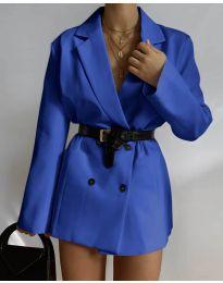Sacou - cod 6919 albastru inchis