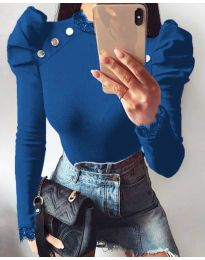 Bluza - cod 9630 - 4 - cer albastru