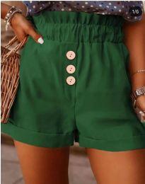 Pantaloni scurți - cod 9383 - verde unt