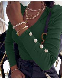Bluza - cod 2065 - verde inchis