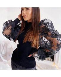 Bluza - cod 3613 - negru
