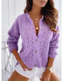 Cardigan - cod 6533 - violet
