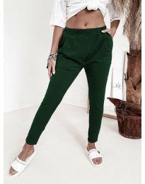 Pantaloni - cod 1904 - verde inchis