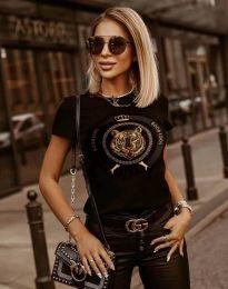 Tricou - cod 2126 - negru