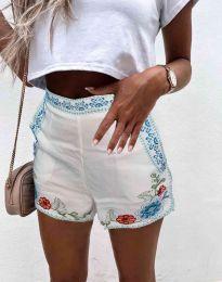 Pantaloni scurți - cod 0955 - 1 - alb