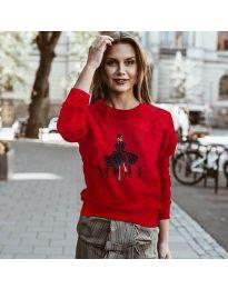 Bluza - cod 3995 - roșu