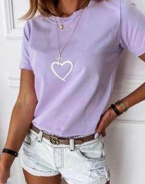 Tricou - cod 3701 - violet deschis