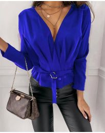 Bluza - cod 5525 - cer albastru