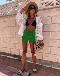 Pantaloni scurți - cod 6614 - 2 - verde
