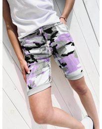 Pantaloni scurți - cod 5077-3 - multicolor