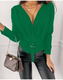 Bluza - cod 5525 - verde