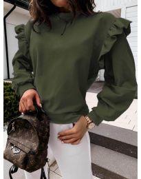 Bluza - cod 6613 - verde unt