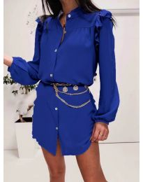 Rochie - cod 3433 albastru inchis