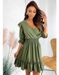 Rochie - cod 8554 - verde