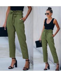 Pantaloni - cod 6077 - 7 - verde