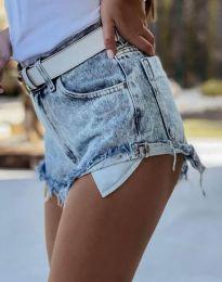 Pantaloni scurți - cod 4316 - 1 - albastru deschis