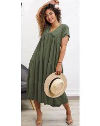Rochie - cod 4475 - verde unt