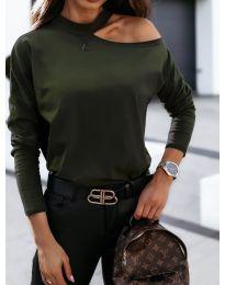Bluza - cod 41511 verde inchis