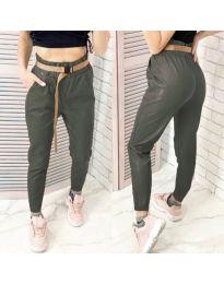 Pantaloni - cod 6329 - 1 verde unt