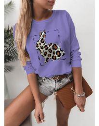 Bluza - cod 4001 - violet