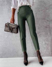 Pantaloni - cod 4895 - verde unt