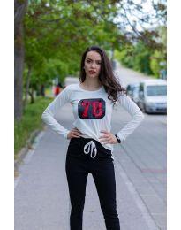 Tricou - cod 987 - alb