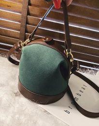 Geantă - cod B308 - verde unt