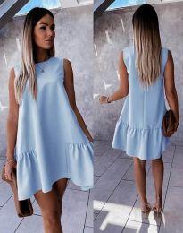 Rochie - cod 3456 - albastru deschis
