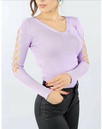 Bluza - cod 6776 - violet deschis