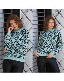 Bluza - cod 1471 - 4 - mentă