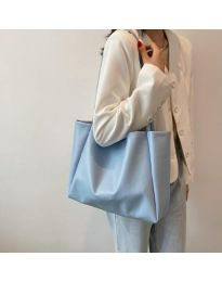 Geantă - cod B571 - albastru deschis