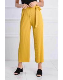 Pantaloni - cod 4512 - galben