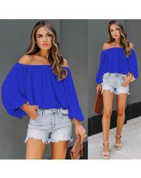 Bluza - cod 6674 - albastru