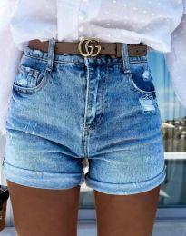 Pantaloni scurți - cod 4503 - 1 - albastru