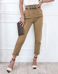 Pantaloni - cod 4655 - cappuccino